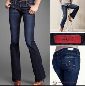 """Ag """"the club"""" well fitted flare jeans 27"""